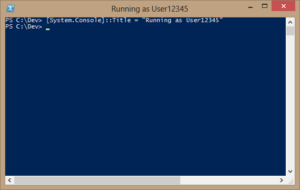 PowerShell Prompt